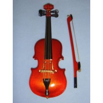 "|Instrument - Violin - 10"" Wood"