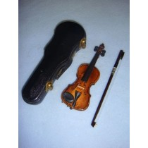 "|Instrument - Violin - 4 1_2""  Wood"