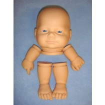 "|Jarod Head w_Blue Eyes,  Arms & Legs - 19"" Doll"