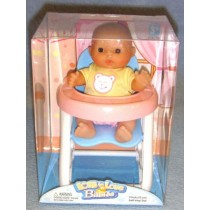 |Mini Nursery Doll w_High Chair