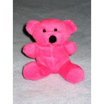 "|Neon Plush Bear - 4 1_2"" Assorted Colors"