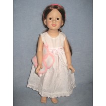 "|Nightie & Blanket for 18"" Doll"