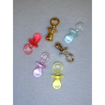 "|Pacifier - 1 1_4"" Asst Colors Pkg_6"