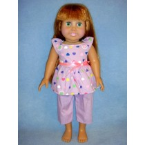 "|Pajamas for 18"" Doll"