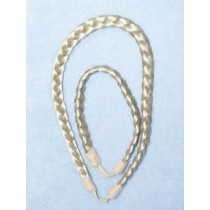 |Pale Blond Braided Bandz - 2 pc Set