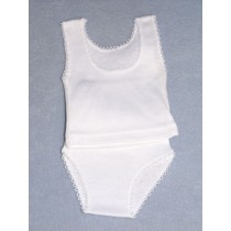 "|Panty & Tee Shirt - 14-16"" Size 3"