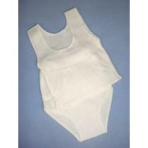 "|Panty & Tee Shirt - 16-18"" Size 4"