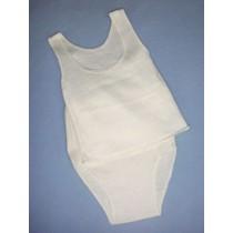 "|Panty & Tee Shirt - 18-20"" Size 5"