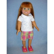 "|Polo & Bermudas for 18"" Doll"