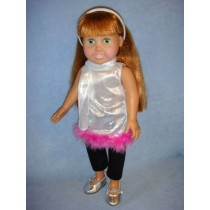 "|Pop Star Outfit - 18"" Dolls"