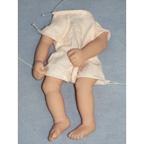 "|Preemie Body Pack - Translucent - 20"" Doll"