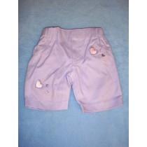 "|Purple Capris - 19"" Doll"