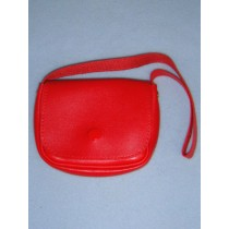 "|Red Purse for 18"" Dolls"