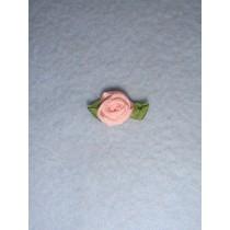 |Ribbon Rose - 10mm Light Pink Silk (Pkg_6)