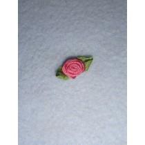|Ribbon Rose - 10mm Mauve Silk (Pkg_6)