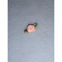 |Ribbon Rose - 8mm Light Pink (Pkg_6)