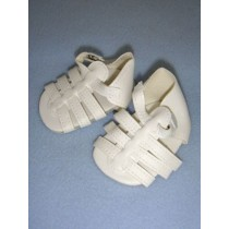 "|Sandal - Multi-Strap - 2 1_2"" White"