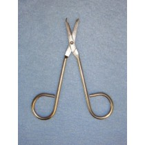"|Scissors - Hook Nose - 4 3_4"" Long"