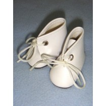 "|Shoe - Baby Tie - 2 3_8"" White"