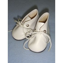"|Shoe - Baby Tie - 2 5_8"" White"