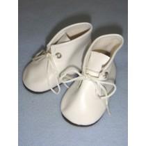 "|Shoe - Baby Tie - 3 1_4"" White"
