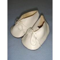 "|Shoe - Baby Tie - 3 3_8"" White"