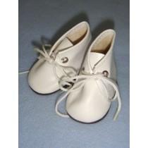"|Shoe - Baby Tie - 3"" White"