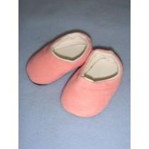 " Shoe - Clogs - 2 7_8"" Pink Suede"