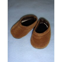 "|Shoe - Clogs - 2 7_8"" Tan Suede"