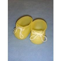 "|Shoe - Hard Vinyl Baby - 3"" Yellow"