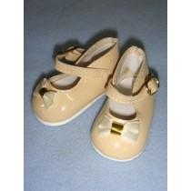 "|Shoe - Mary Jane - 3 1_4"" Ecru"