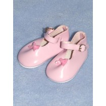 "|Shoe - Mary Jane - 3"" Pink"