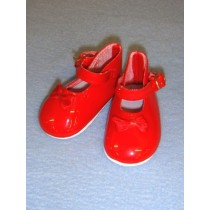 "|Shoe - Mary Jane - 3"" Red"
