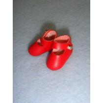 "|Shoe - Mary Jane - 7_8"" Red"