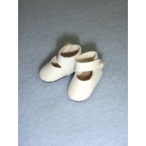 "|Shoe - Mary Jane - 7_8"" White"