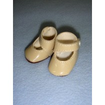 "|Shoe - Mary Jane New Style - 1 3_4"" Beige"