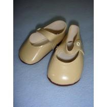 " Shoe - Mary Jane New Style - 3 1_2"" Beige"