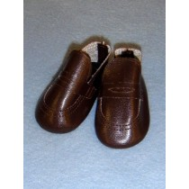 "|Shoe - Penny Loafer - 2 5_8"" Brown"