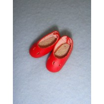 "|Shoe - Slip-On - 7_8"" Red"