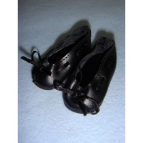 "|Shoe - Slip-On w_Ribbon - 3 1_4"" Black"