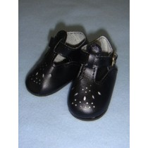 """ Shoe - T-Strap - 3"""" Black"""