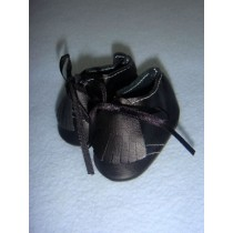 "|Shoe - German Boy - 2 1_2"" Black"