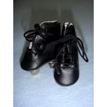 "|Skates - Roller - 2"" Black"