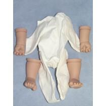 "|Sleepy Body Pack - Translucent - 22"" Doll"