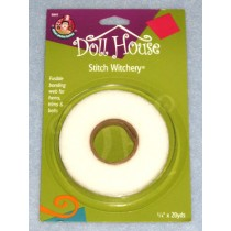 "|Stitch Witchery Fusible Bonding Web 1_4"" x 20 yds"