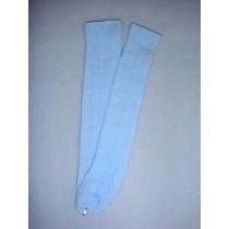 "|Stocking - Long Design - 21-24"" Blue (6)"