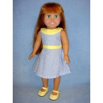 "|Summer Dress - 18"" Dolls"
