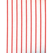 |Sweatshirt Knit Fabric White_Red St