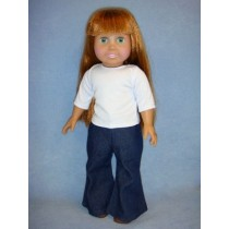 """ T-Shirt & Jeans for 18"""" Doll"""
