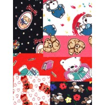 |Teddy Bear Knit Asst. - 4 Yards